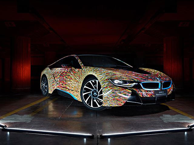 Bmw S Latest Art Car Celebrates 50 Years In Italy And Isn T