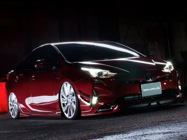 Wald International Slammed A Toyota Prius And It Looks Hilarious