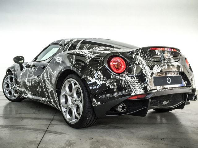 This Is What The Alfa Romeo 4C Looks Like Inspired By Adidas - CarBuzz bd096eaf97442
