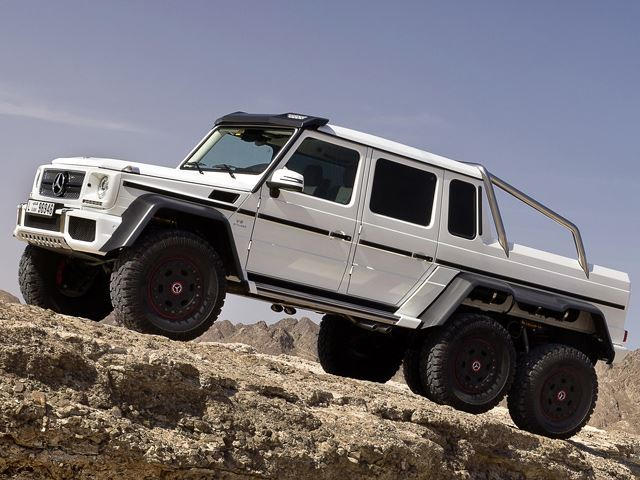 These are the things most people don 39 t know about the for Mercedes benz g36 amg 6x6 price