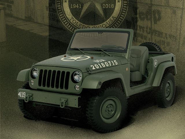 Check Out This Insanely Cool Jeep Wrangler 75th Anniversary Edition
