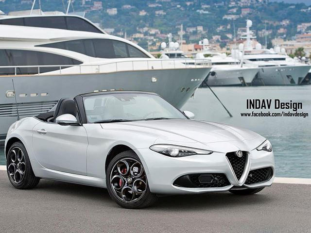 this alfa romeo is the upscale convertible fca desperately needs carbuzz. Black Bedroom Furniture Sets. Home Design Ideas