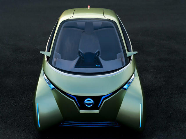 2011 Nissan Pivo 3 Concept Readied For Tokyo Motor Show Carbuzz