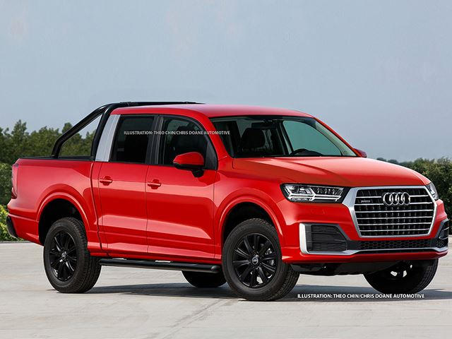 if mercedes builds a pickup truck so will audi carbuzz. Black Bedroom Furniture Sets. Home Design Ideas
