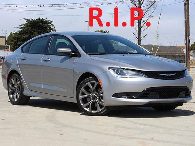 Chrysler 200 Sedan >> FCA Has Officially Killed Off The Doomed Chrysler 200 - CarBuzz