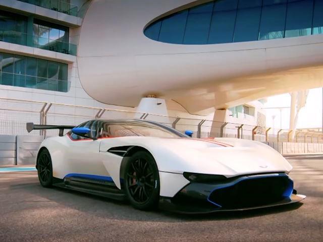 Chris Harris Hoons The 800 Hp Aston Martin Vulcan For Top Gear