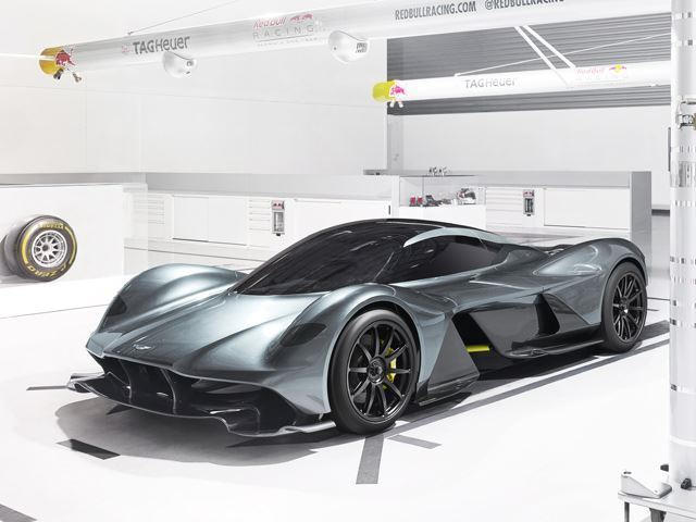The Top Speed Of Aston Martin's AM-RB 001 Hypercar Is Insane - CarBuzz
