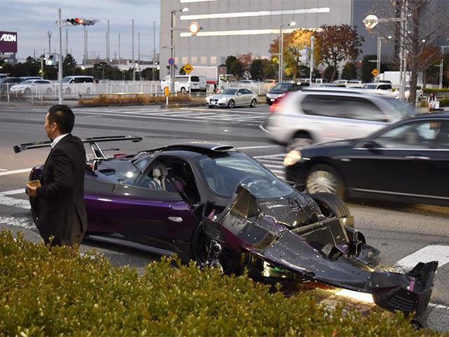 The One-Off Pagani Zonda Zozo Has Been Wrecked In Japan - CarBuzz