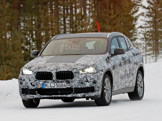The BMW X2 Concept Comes Alive To Drift Around In Snow