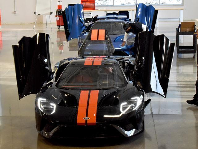 The First Two People To Take Delivery Of The Ford Gt May Surprise You