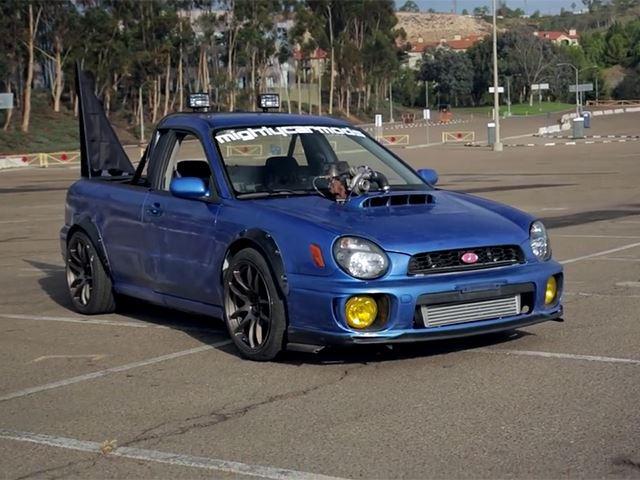 mighty car mods has built the subaru ute of our dreams carbuzz