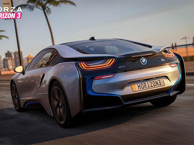 Bmw I8 Makes Video Game Debut In Forza Horizon 3 Carbuzz