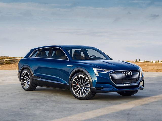 Audi Q Etron PlugIn Axed To Build Electric SUV CarBuzz - Audi sub