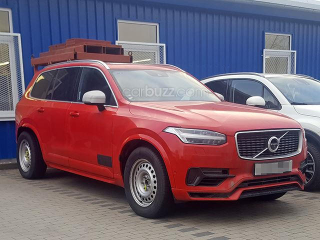 did we just catch volvo testing an xc90 pickup truck. Black Bedroom Furniture Sets. Home Design Ideas