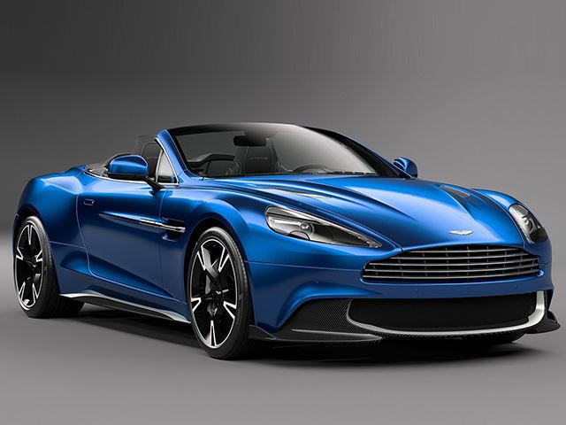 Meet The Aston Martin Vanquish S Volante: 2017's Sexiest Convertible ...