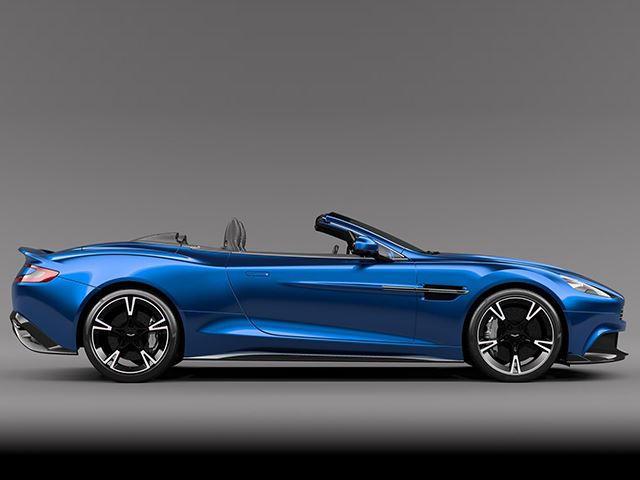 Meet The Aston Martin Vanquish S Volante S Sexiest Convertible - Convertible aston martin