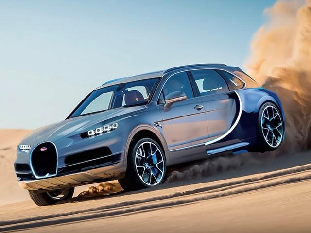 What Do You Think About A Full Size SUV Based On A Bugatti Chrion ...