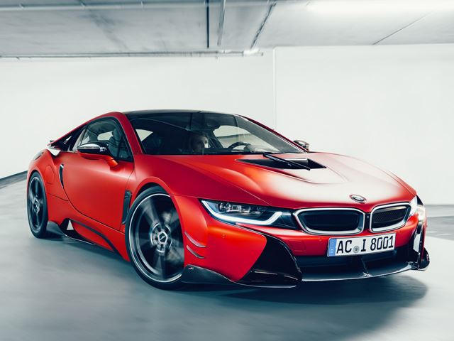 Ac Schnitzer Unleashes Stunning Carbon Fiber Bmw I8 Carbuzz