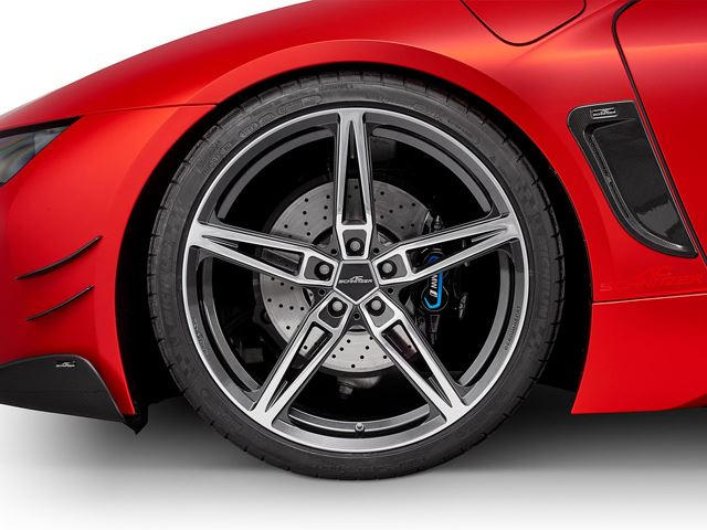 Ac Schnitzer Unleashes Stunning Carbon Fiber Bmw I8 Carbuzz