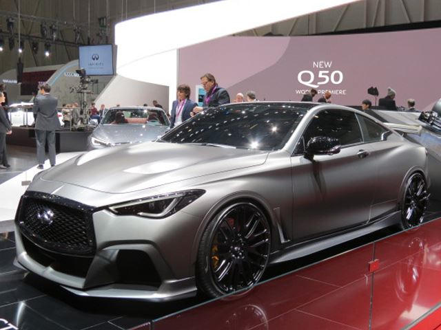 The Wild Infiniti Q60 Black S Concept Needs To Be Built And Here S