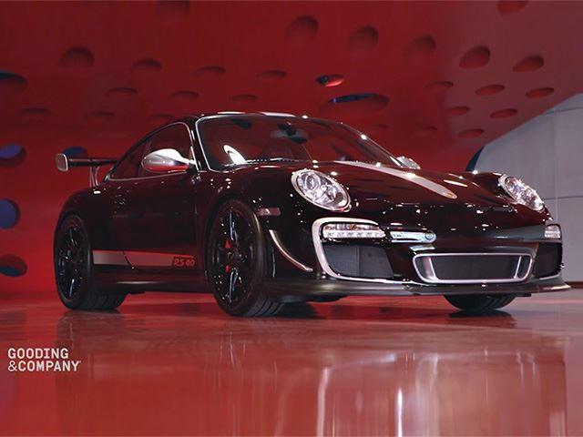 you won 39 t believe how much this porsche 997 gt3 rs 4 0 sold for carbuzz. Black Bedroom Furniture Sets. Home Design Ideas