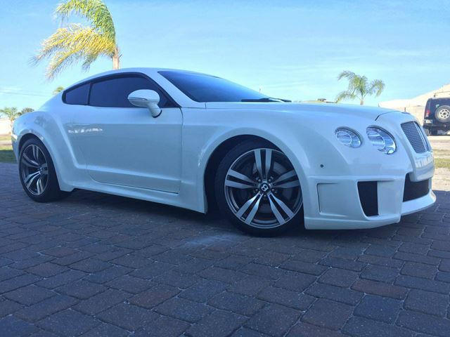 Bentley continental gt replica
