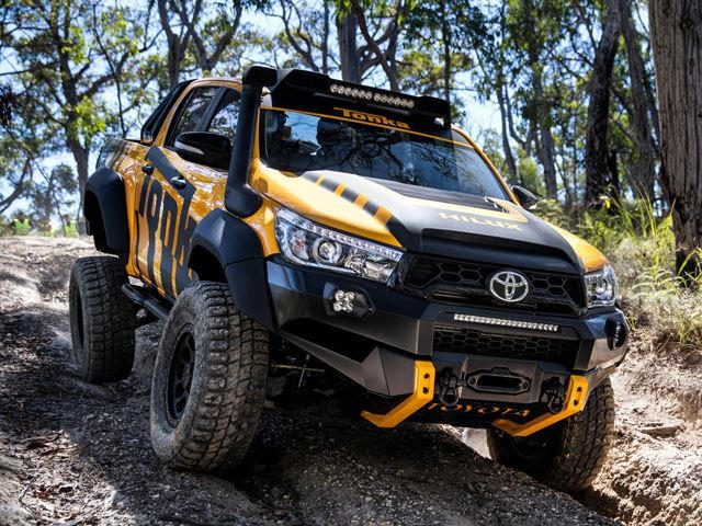 This Toyota Hilux Tonka Concept Is The Off-Road Adult Toy ...