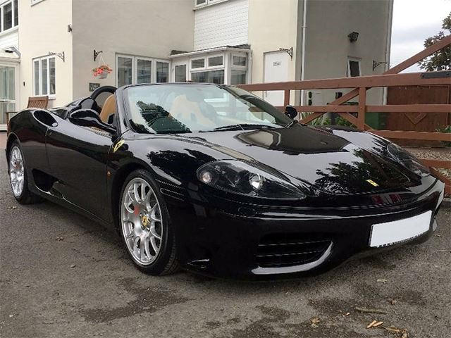 You Can Own One Of David Beckham S Ferrari 360 Spiders