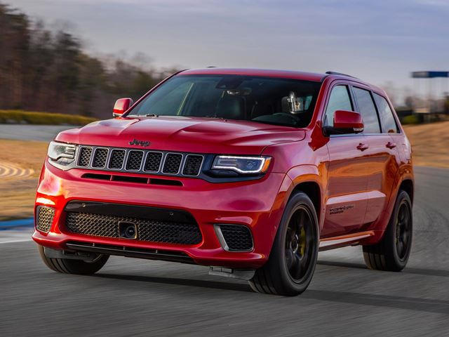 Srt8 2018 >> Presenting The 707 Hp 2018 Jeep Grand Cherokee Trackhawk Carbuzz