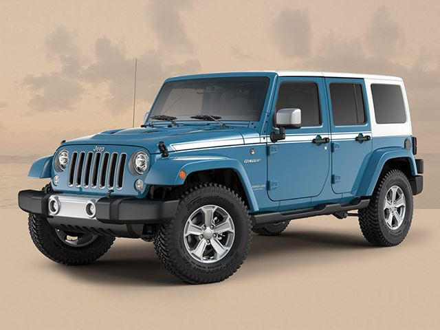 Available In Three Colors Including The Signature Chief Blue, Every Jeep  Wrangler Chief Will Be Distinguished By A White Hardtop And Stripes Running  Down ...