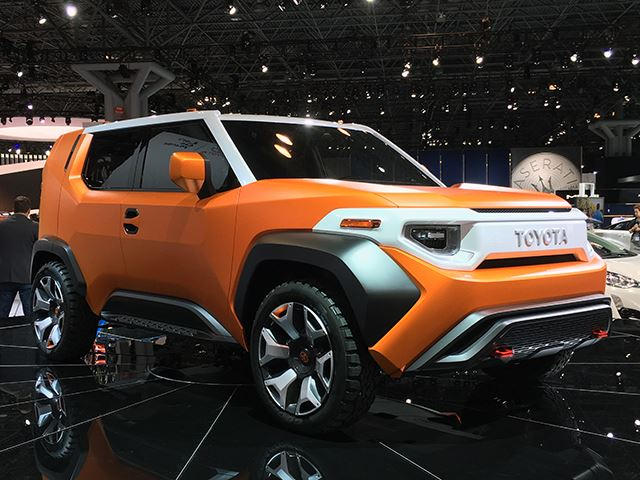 Toyota S New Concept Car Could Be A Successor To The Fj