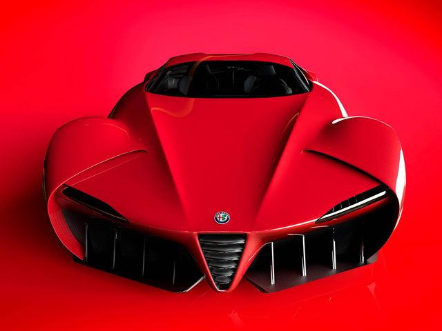 This Alfa Romeo Supercar Is The Stuff Of Dreams Carbuzz