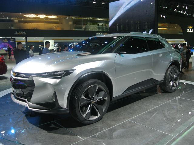 We Wouldn T Be Ashamed To Own The Chevrolet Fnr X Concept Crossover