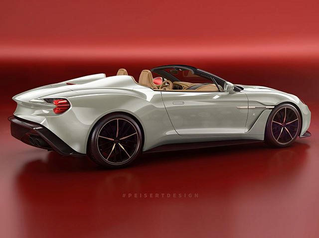 Aston Martin Vanquish Zagato Speedster Is Happening Carbuzz