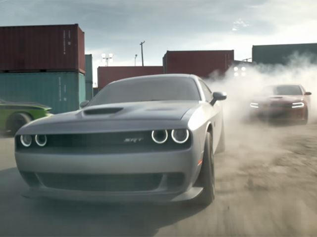 Vin Diesel Takes Dodge Srt Muscle Cars For A Spin In New Commercials