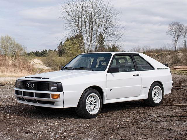 This Audi Sport Quattro Is Worth At Least One Of Your Kidneys - Audi quattro