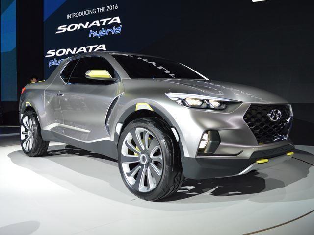 Hyundai pickup truck 2016