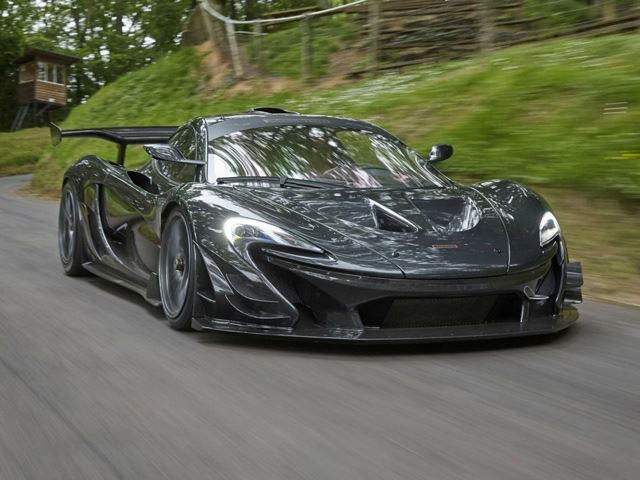 Driving Up The Goodwood Hill Climb In The McLaren P1 LM Looks Insane ...
