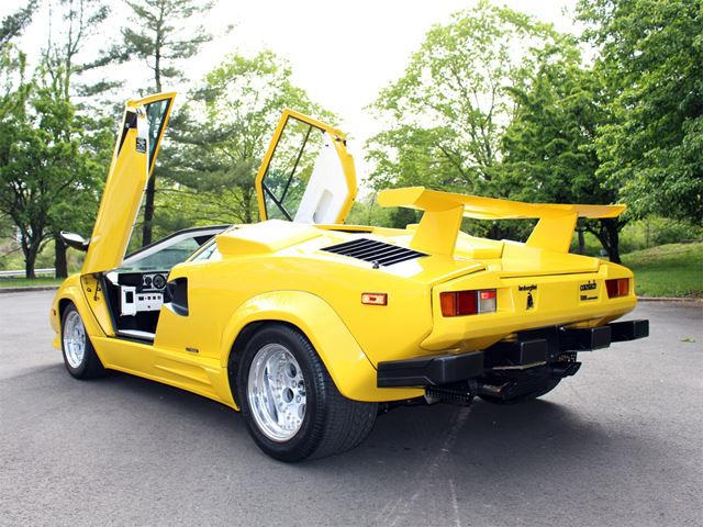 Revealed In 1985, The Countach ...