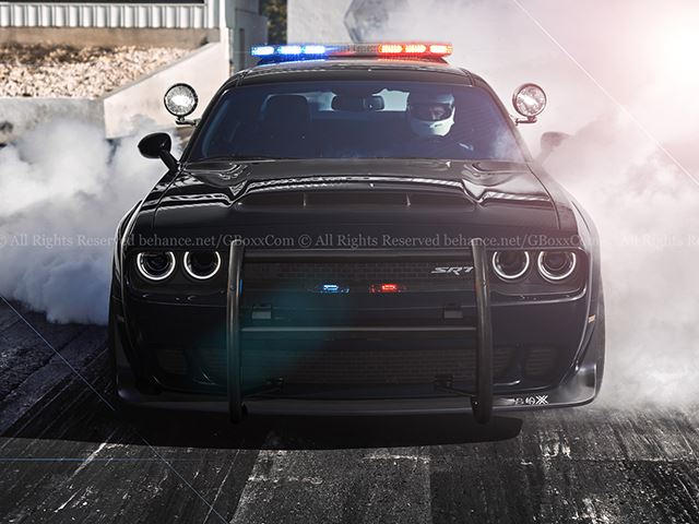There S No Escaping This Dodge Demon Cop Car Carbuzz