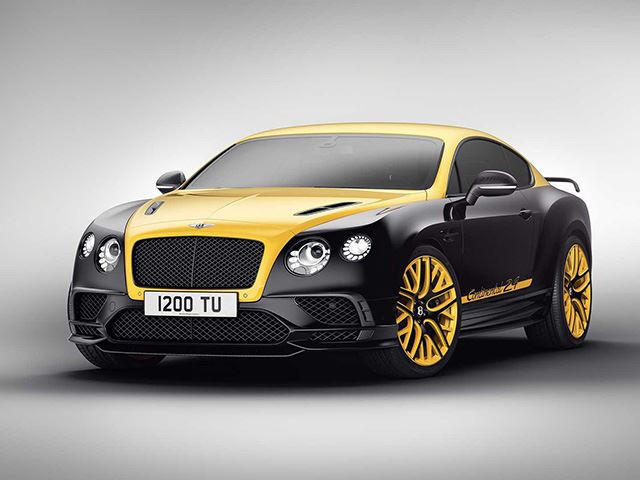 Bentley Continental 24 Celebrates Return To The Nurburgring   CarBuzz
