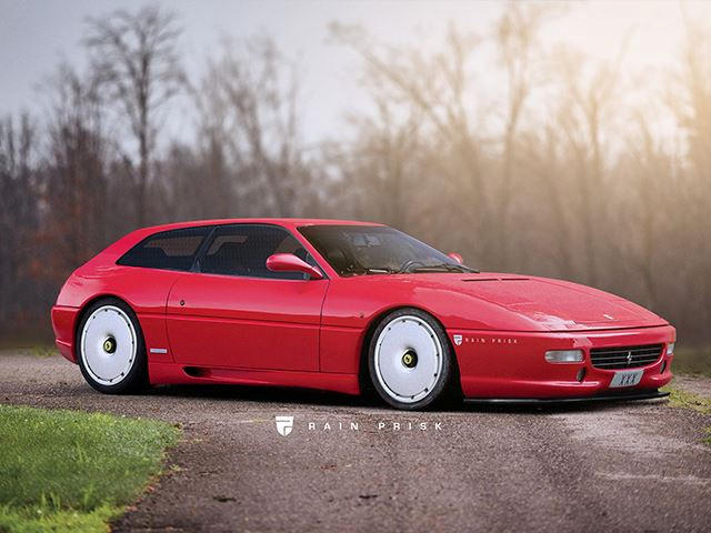 Ferrari F355 Shooting Brake Render Is Breathtakingly Beautiful - CarBuzz