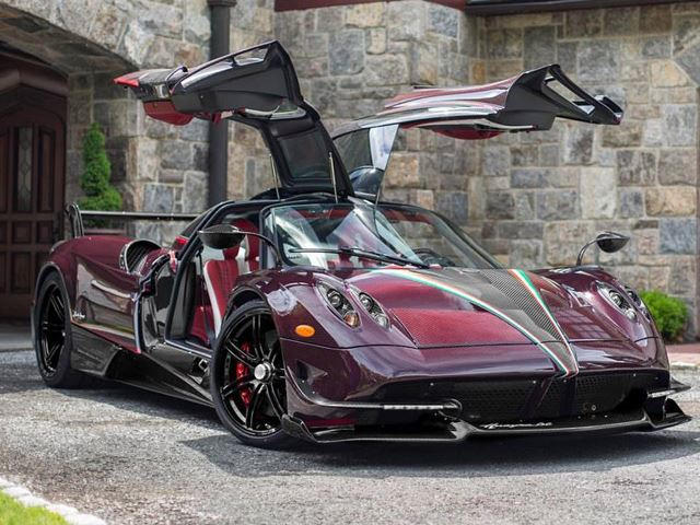 This Pagani Huayra Bc Is A Red Carbon Masterpiece Carbuzz