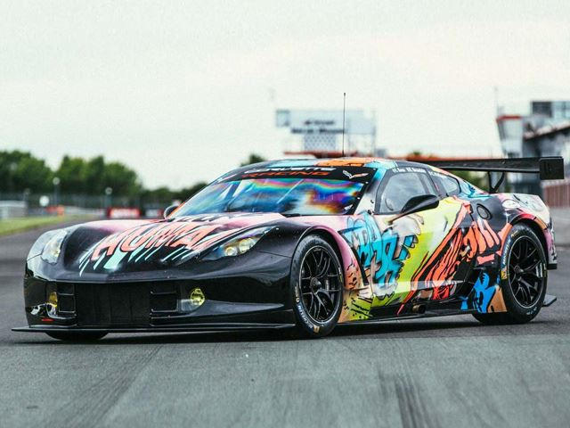 Look What A French Street Artist Did To This Corvette C7.R - CarBuzz