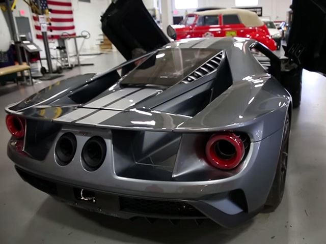 Not Only Does He Also Own A  Ford Gt Which Coincidentally Has The Same Serial Number As His New  Gt He Owns An Engineering