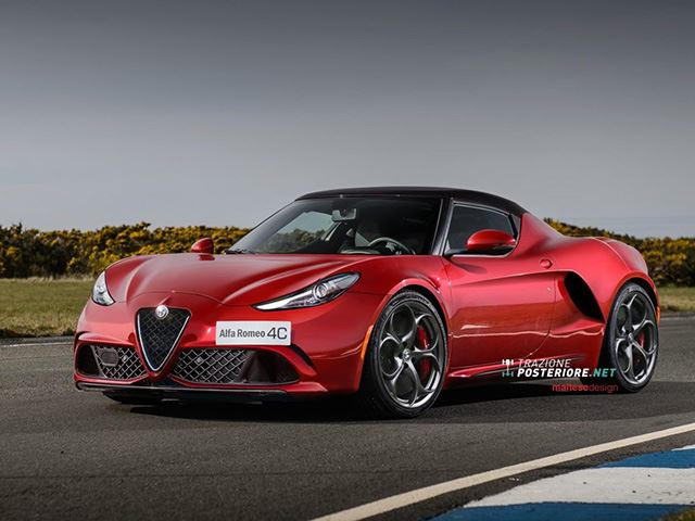 this is the aggressive alfa romeo 4c we wanted from the. Black Bedroom Furniture Sets. Home Design Ideas