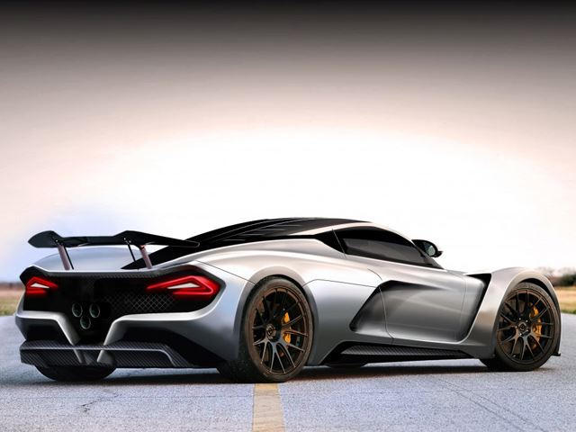 The Hennessey Venom F5 Hypercar Aims To Set A New Top Speed Record ...