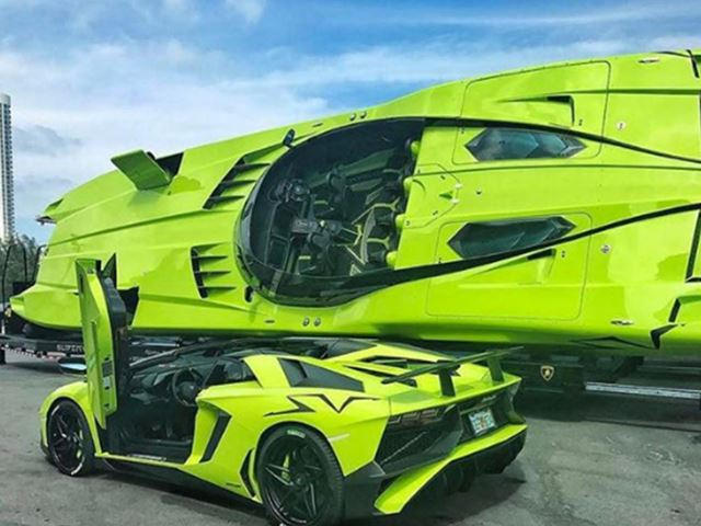 Lamborghini Aventador SV And Matching Speedboat On Sale For $2.2M ...