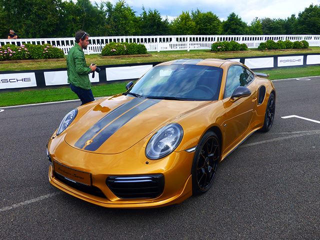 The 911 Turbo S Exclusive Series Has The Best Paint Job In The