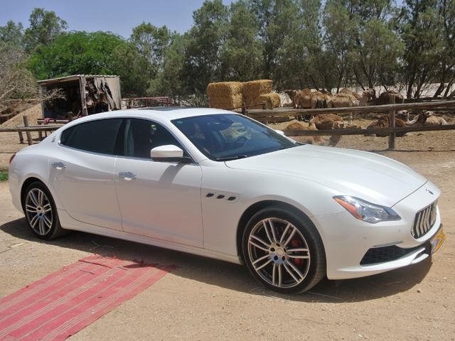 2017 maserati quattroporte review: driving through the middle east